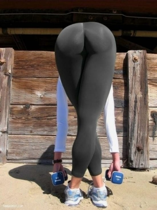 Are yoga pants too sexy?